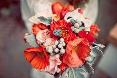 bouquet-d-automne-coquelicot MG Evénements Ile de Ré