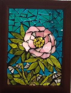 """SIZE: 6"""" x 8.5"""". Stained Glass"""
