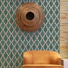 Allover Pattern Stencils | Moroccan Arches | Royal Design Studio - kitchen backsplash?