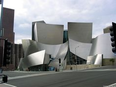 The Walt Disney Concert Hall, home of the L.A. Phil, by Frank Gehry.