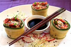 Amor&Kartoffelsack: Mozzarella-Sushi Giuseppe