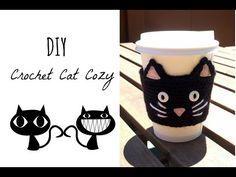 ▶ Crochet Cat Cozy DIY - YouTube