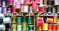 Caixa de linhas Art Supplies, Embroidery, Big Books, Embroidery Patterns, Yarns, Box, Stitches, Tall Clothing, Sharpies