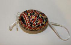 Vlčková Marie - batikovaná kraslice G