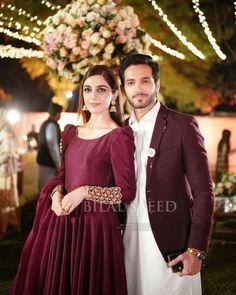 Kawali Night and Dholki Awesome Clicks of Maya Ali's Brother Afnan Qureshi Stylish Dress Designs, Stylish Dresses, Simple Dresses, Mahira Khan Dresses, Shadi Dresses, Pakistani Fashion Party Wear, Pakistani Wedding Outfits, Simple Pakistani Dresses, Pakistani Dress Design