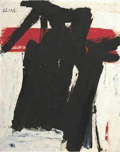 Franz Kline, c.1957, Untitled