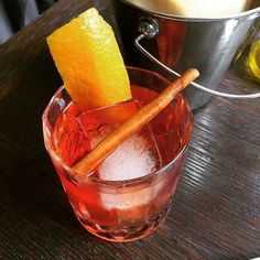Smoky old fashioned & focaccia. Happy Mother's Day to me! by macojack