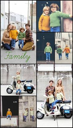 Family poses JMB images