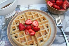 The Healthy Happy Wife: Gluten Free Waffles (Dairy, Gluten and Sugar Free)