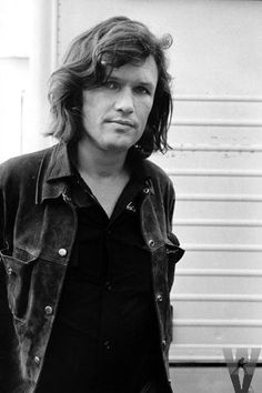 When i fell in love with Kris Kristofferson