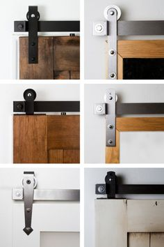 The customization of our sliding Barn Door shutters is up to you—all the way down to the hardware.   #BarnDoor #designideas