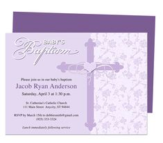 Baby Baptism/Christening Invitations : Christening Baby Baptism Invitation Template Design, edit in Microsoft Word, PUblisher, Apple iWork Pages, or OpenOffice