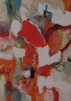 Abstrakte Kunst von Iris Rickart / Bild 48 / Mischtechnik