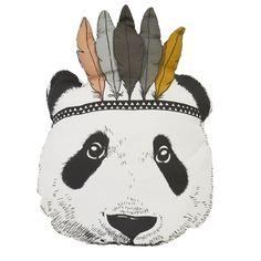 Indian Panda Pillow