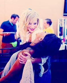 Heather Morris: I love her character, Britney, on Glee, her dancing talent, comedy, girliness, quirkiness, unique beauty, & body.