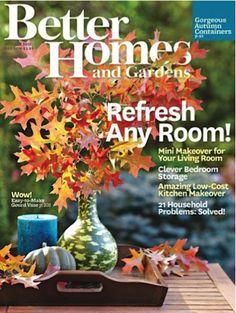 Better Homes & Gardens Woods, September 2006 Issue
