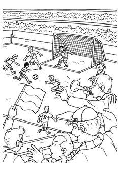 Coloriage Foot Sco Angers.7 Meilleures Images Du Tableau Match De Foot Football Match