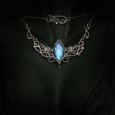 AMANANTIUX - silver and moonstone. by LUNARIEEN.deviantart.com on @DeviantArt