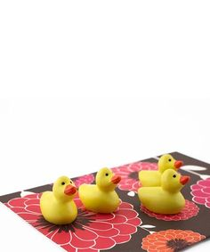 c68cf12f61e5 Loving this Duck Magnet - Set of Six on  zulily!  zulilyfinds Magnets