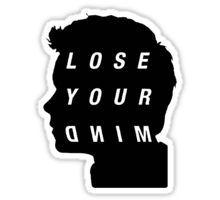 Lose Your Mind Stiles Sticker