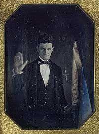 John Brown, daguerreotype, c. 1846. Link to Smithsonian website