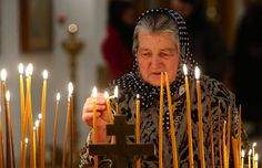 In Praise of Old Women: guarding the apostolic deposit of the Faith. Cyprus Greece, Church Of England, Orthodox Christianity, Votive Candles, Old Women, Character Inspiration, Birthday Candles, Elephants, Lanterns