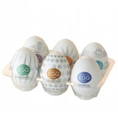 The New Hard Boiled style Tenga Eggs feature deeper grooves to create a more intense sensation when used on the head of the penis. Hard Boiled, Boiled Eggs, Obsessed Girlfriend, Prostate Massage, Sex And Love, Fun Workouts, Shops, Health, Amazon