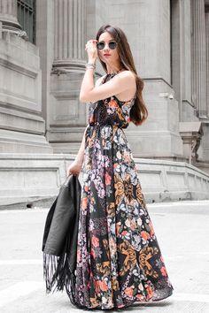 Style maxi dress fall ball