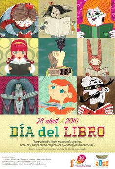 Cartel de la Fundación Lafuente (Chile), 2010.