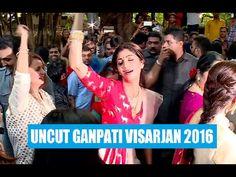 Shilpa Shetty MADLY DANCES at Ganpati Visarjan 2016 - UNCUT VIDEO Ganpati Visarjan, Shilpa Shetty, Dance, Videos, Music, Youtube, Musica, Dancing, Musik