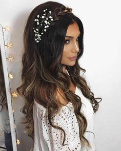 peinados para bodas àra el pelo largo y suelto