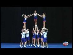 Pyramid ideas from 2014 NCA camp Nca Cheer, Cool Cheer Stunts, Cheer Jumps, Football Cheer, Cheer Coaches, Cheer Mom, Cheer Stuff, Cheer Pyramids, Cheerleading Pyramids