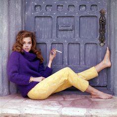 Jane Fonda, photographed by Chiara Samugheo (1963)