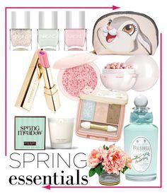 """#springessentials #springperfume #2017 #polyvore #contest"" by vikapranika on Polyvore featuring beauty, LeSportsac, Guerlain, Nails Inc., PENHALIGON'S, Paul & Joe and Henri Bendel"
