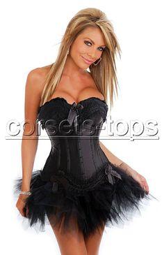 Bustier corset & Tutu skirt