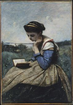Camille Corot - A Woman Reading - The Metropolitan Museum of Art - Jean-Baptiste-Camille Corot - Wikipedia, the free encyclopedia
