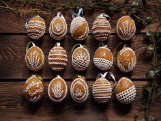 Piernikowe pisanki / Gingerbread Easter eggs