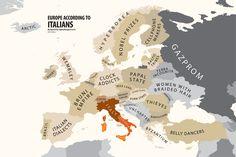 Europe according to Italy