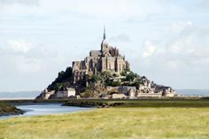 medieval travel fantasy-Mont St Michel. been here - it's stunning