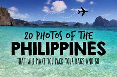 2015 is the year to visit the Philippines! Book your ticket before everyone does, the Philippines is becoming the next big travel destination in South East Asia.
