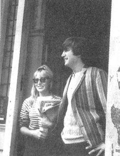 Cynthia and John Lennon  | Tumblr