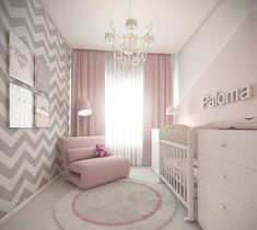 Baby Girl Nursery Design Ideas for Your Cutie Pie. Baby Girl Nursery Design Ideas for Your Cutie Pie - mybabydoo. Are you looking for some nice baby girl nursery ideas for your soon-coming child? If yes, then you're stumbling upon the right page. Baby Bedroom, Baby Room Decor, Girls Bedroom, Girl Rooms, Bedrooms, Room Baby, Baby Bedding, Trendy Bedroom, Baby Room Design