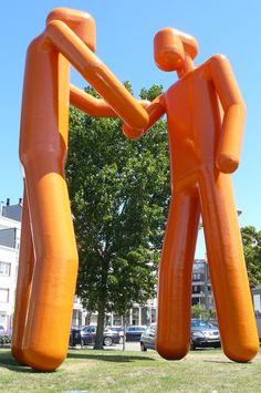 Twee grote AVL-mannen - Joep Van Lieshout