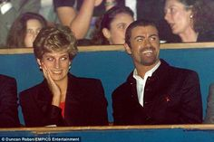 George was gay but there was speculation about the nature of his relationship with Diana