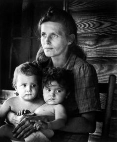 A mother waits for Maude Callen's visit, North Carolina, 1951 by W.