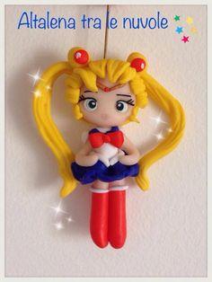 New Style for my little Sailormoon ❤️ Love her!! #mybestfimo #polymerclay #lovehandmade