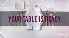 PureWow Presents: How to Set a Table Table Etiquette, Etiquette And Manners, Table Setting Etiquette, Setting Table, Table Set Up, A Table, Dining Tables, Event Planning, Wedding Planning