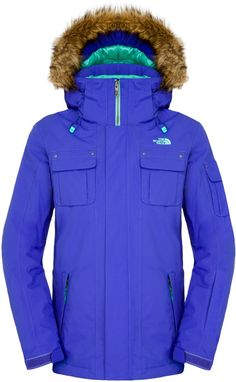 The North Face BAKER Women's Ski/Snowboard Jacket, Tech Blue