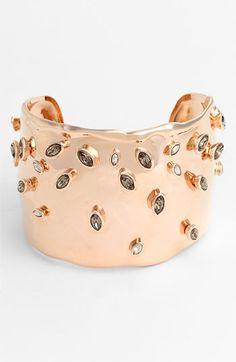 pink gold cuff