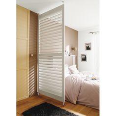 dressing tout en un blanc avec rideau maison la pointe pinterest assaisonnement. Black Bedroom Furniture Sets. Home Design Ideas